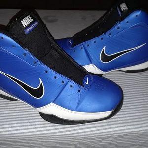 NIKE AIR QUICK HANDLE Blue Basketball Shoes sz 9